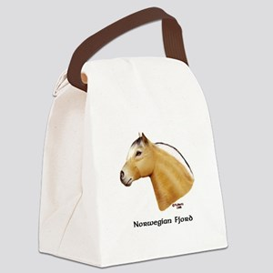 Norwegian Fjord Canvas Lunch Bag