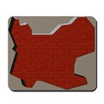 Brick Wall Decor Mousepad