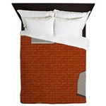 Brick Wall Decorqueen Duvet