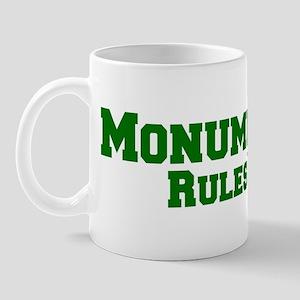 Monument Rules! Mug