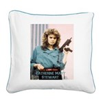 Catherine Mary Stewart Name Square Canvas Pillow
