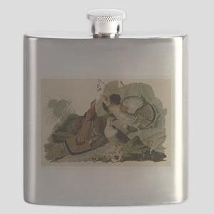 Ruffled Grouse Flask
