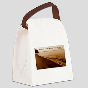 1 John 4:11 Canvas Lunch Bag