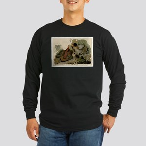 Ruffled Grouse Long Sleeve Dark T-Shirt