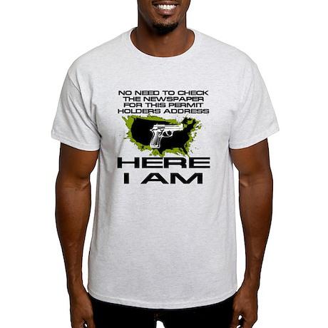 Here I Am Camo Nation T-Shirt