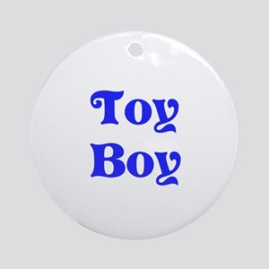 Toy Boy Ornament (Round)