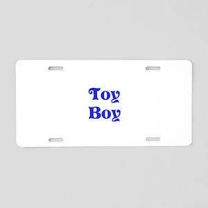 Toy Boy Aluminum License Plate