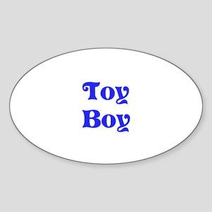 Toy Boy Sticker (Oval)