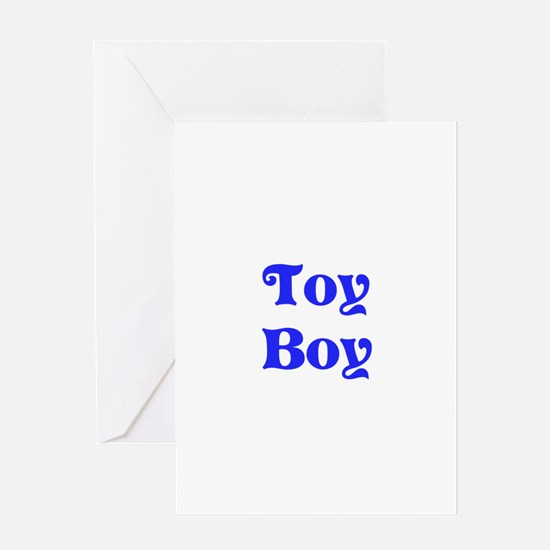 Toy Boy Greeting Card