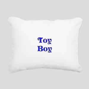 Toy Boy Rectangular Canvas Pillow
