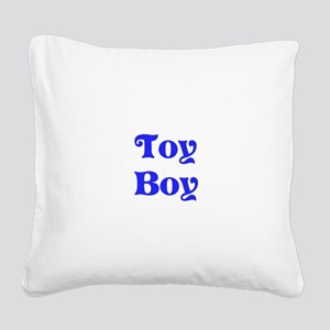 Toy Boy Square Canvas Pillow