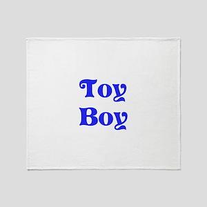 Toy Boy Throw Blanket