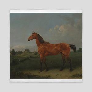 A Bay Horse Queen Duvet