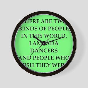 lambada Wall Clock