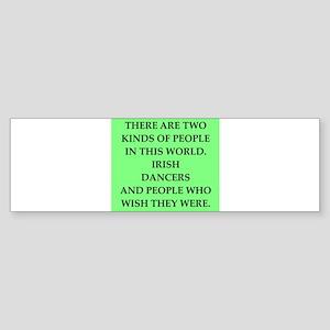 irish Sticker (Bumper)