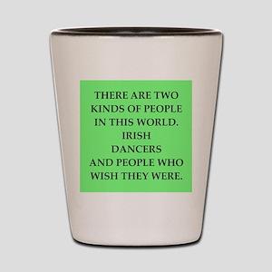 irish Shot Glass