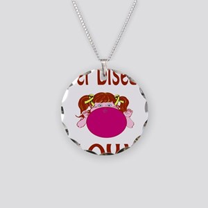 Liver Disease Blows! Necklace Circle Charm