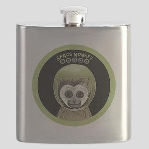 space monkey gordo Flask