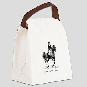 "Sport Horse ""Dressage"" Canvas Lunch Bag"