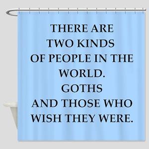 goth Shower Curtain