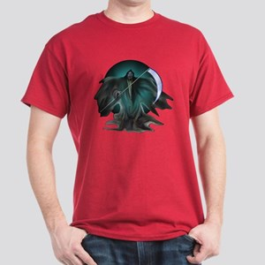Grim Reaper Dark Red T-Shirt