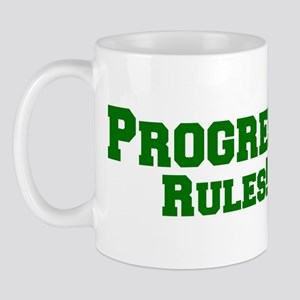 Progress Rules! Mug