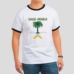 Saudi Arabia Coat of arms Ringer T