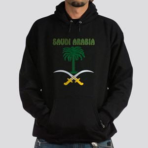 Saudi Arabia Coat of arms Hoodie (dark)