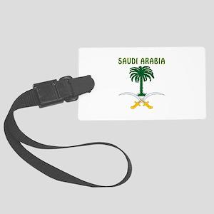 Saudi Arabia Coat of arms Large Luggage Tag