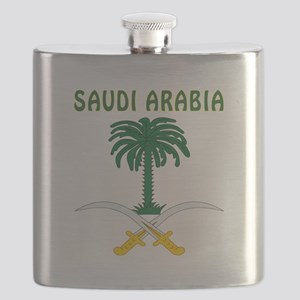 Saudi Arabia Coat of arms Flask