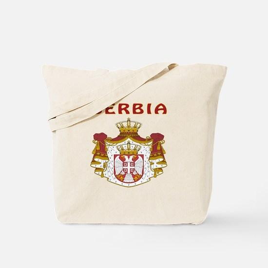 Serbia Coat of arms Tote Bag