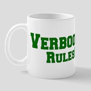 Verboort Rules! Mug