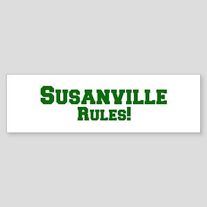 Susanville Rules! Bumper Sticker