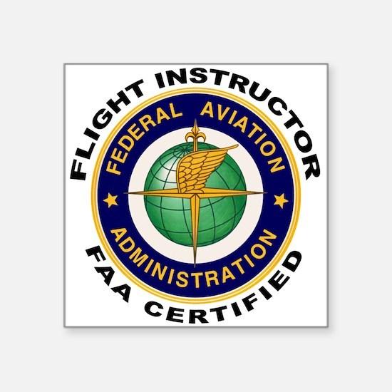 Flight Instructor Sticker