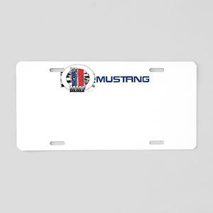 Mustang Logo 2013 Aluminum License Plate