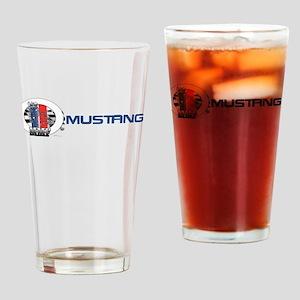 Mustang Logo 2013 Drinking Glass
