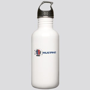 Mustang Logo 2013 Stainless Water Bottle 1.0L