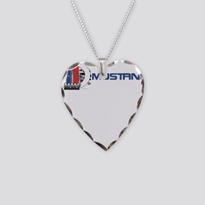 Mustang Logo 2013 Necklace Heart Charm