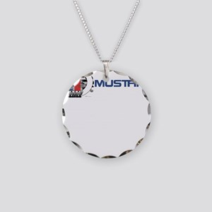 Mustang Logo 2013 Necklace Circle Charm