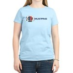Mustang Logo 2013 Women's Light T-Shirt