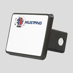 Mustang Logo 2013 Rectangular Hitch Cover