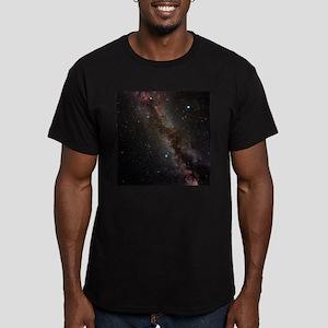 Milky Way - Men's Fitted T-Shirt (dark)