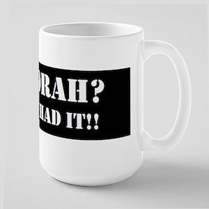GOT TORAH? Large Mug