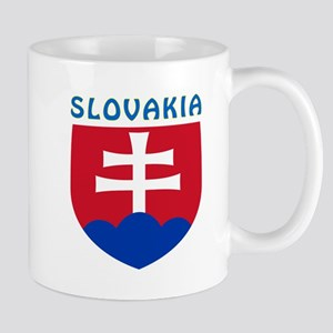 Slovakia Coat of arms Mug