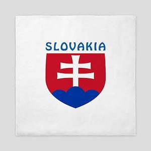Slovakia Coat of arms Queen Duvet