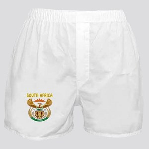 South Africa Coat of arms Boxer Shorts