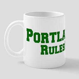 Portland Rules! Mug