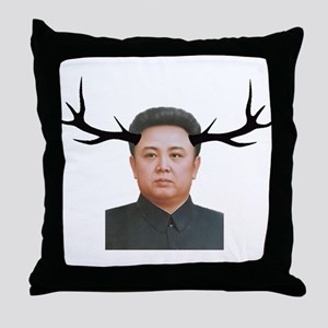 The Deer Leader Throw Pillow