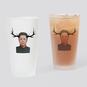 The Deer Leader Drinking Glass