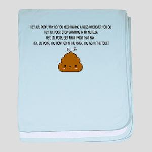 CUTIE POOH baby blanket